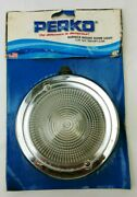 Perko Surface Mount Dome Light Push Switch W/ Water Resistant Boot Marine - Usa