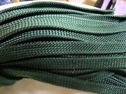 7/16x 200 Ft. Hollow /flat Braid Nylon Rope Hank. Discounted. Made In Usa
