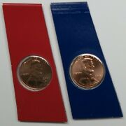 2019 Pandd Lincoln Cents Bu In Mint Plastic From Us Mint Unc. Sets - Ship Today