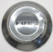 1952 1953 1954 Ford Dog Dish Hubcap 10 1/2 Inch Stainless Steel Original