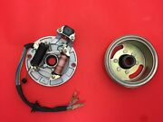 Ignition Magneto Stator Plate And Flywheel For Honda Ct70 Xr Crf 50 70 Motorcycle