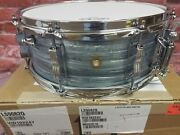 Ludwig Legacy Mahogany Reissue Vintage Blue Oyster Jazz Fest 5.5x14 Snare Drum
