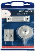Osculati Zinc Anode Kit For Honda Outboards 40/50 Hp