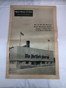 Hartford Courant Newspaper Open House Tour Pull Out Section March 25 1951 Old