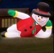 6m/20ft Giant Led Inflatable Snowman Christmas With Light New Ss