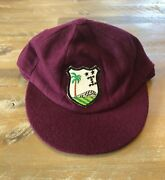 Player Issued - West Indies National Team Baggy Test Cricket Cap - C1970-80s