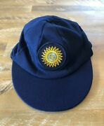 Player Issued - India National Team Baggy Test Cricket Cap C1990s - Authentic