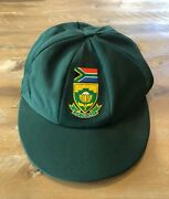 Player Issued - South Africa National Team Baggy Test Cricket Cap - C1990s