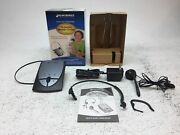 Plantronics S12 Hands Free Office Telephone Headset System Preowned