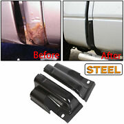 New Pair Steel Door Outer Cab Corners For 2009-2014 Ford F-150 Crew Cab Lt Rt