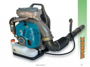 Blower To Backpack Engine Petrol 79,4cc Vel Air 229 8/12ft/s Leaves Grass