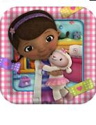 Doc Mcstuffins Party Supply Table Cover Bags Plates