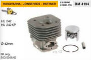 503.5368.02 Cylinder And Piston Chainsaw Husqvarna Apps Hu 242 Xp Andoslash 1 21/32in
