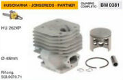 503.9079.71 Cylinder And Piston Chainsaw Husqvarna Apps Hu 262 Xp Ø 1 7/8in