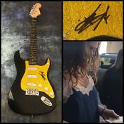 Gfa L.a. Song Out Of This Town Beth Hart Signed Electric Guitar Proof Coa