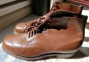 Young Wehrmacht Wwii German Shoes Rare War Relic