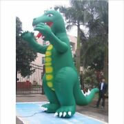 30and039 Giant Inflatable Godzilla W/fan Advertising Most Powerful Bi