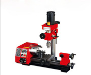 M1 250mm Micro Multi-function Machine Drilling And Milling Lathe Machine 220v Y