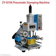 Zy-819a 8090mm Printable Area Pneumatic Hot Foil Stamping Machine Y