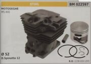 11380201201 Cylinder And Piston Complete Chainsaw Stihl Ms 441 Ø 52
