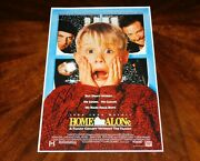 Director Chris Columbus Signed Home Alone 12x18 Movie Poster