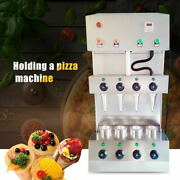 Commercial Pizza Cone Forming Making Maker Machine With Rotational Pizza Oven