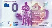 Ticket Schloss Burg Germany 2017-3 Whole Petit Number 35