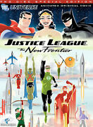 Justice League The New Frontier Dvd 2008 2-disc Set Special Edition