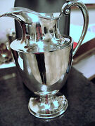 Vintage Sterling Mexican Gonzalo Moreno Pitcher Rare Find Appraised 3000
