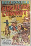 Authentic Movie Poster King Of The Cowboys 1943 One Sheet Starring Roy Rogers