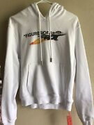 Virgil Abloh Mca Off-white Figures Of Speech Hoodie Rare 1 Of 3 Size Small