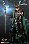 New And Rare Hot Toys The Avengers Loki Mms176 1/6th Collectible Action Figure