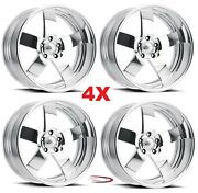 18 Pro Wheels Rims Magg Forged Billet Polished Aluminum Us Specialties Line