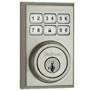 Kwikset 910 Z-wave Contemporary Smartcode Electronic Touchpad Deadbolt Featurin
