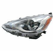 Capa For 15-17 Prius C Front Projector Headlight Headlamp Led Head Driver Side