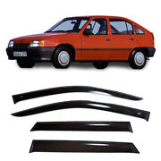 For Opel Kadett E Hb 1984-1993 Window Side Visors Sun Rain Guard Vent Deflectors
