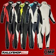New 2018 Omp Tecnica Evo Racing Rally Suit Fia Approved Race Nomex