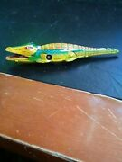 Gama Crocodile, Wind Up - 6.5 Inch- Western Germany- From The 60's