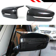 For 19-21 Bmw G20 330i M Style Horn Carbon Fiber Replacement Side Mirror Covers