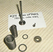 24 82 Vf750 Exhaust Valve And Springs 14721-mb0-000 14761-422-004 17451-422-00