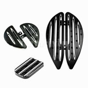 Cnc Cut Brake Pedal Floorboards Foot Boards Foot Rest Fit For Touring Softail