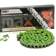 Green 520x98 Links Drive Chain For Yamaha Raptor 700 Yfm700 Warrior 350 Yfm350x