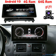 10.25 Android 10 Car Gps Radio Stereo 8core For Mercedes Benz C Class 2008- 10