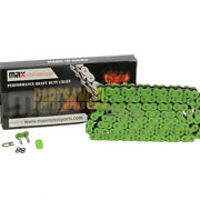 520 Green 520x130 O-ring Drive Chain Atv Motorcycle Mx 520 Pitch 130 Links