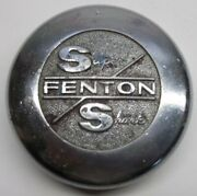 Vintage Super Fenton Shark Wheel Center Cap P/nand039s Wc-254 3 Id And 3 1/4 Od