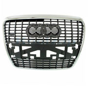05-08 A6 And 07-08 S6 W/sport Package Front Grill Grille Assembly W/o Park Sensor