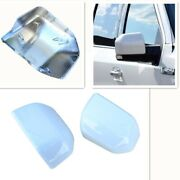 For 15-20 Ford F150 Mirror Cover Skull Cap Replacement Painted Z1 Oxford White