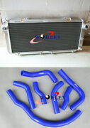 For Toyota Mr2 Sw20 Aluminum Alloy Radiator 90-97 91 92 93 And Silicone Hose Blue