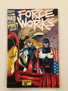Marvel Comics Force Works Killer First Issue Lot Of 11 Books