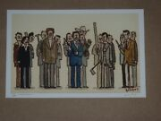 Anchorman Scott Campbell Movie Poster Print Great Showdowns Gallery 1988 C